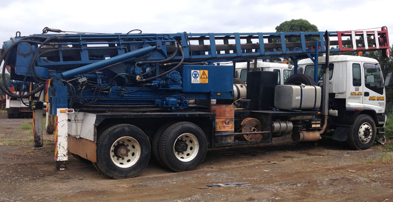 Piling Contractor Truck Sydney